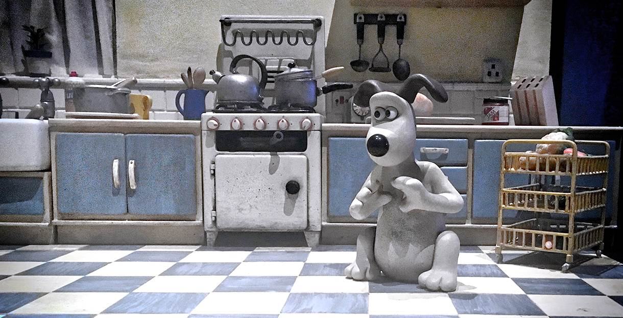 Aardman Gromit dog
