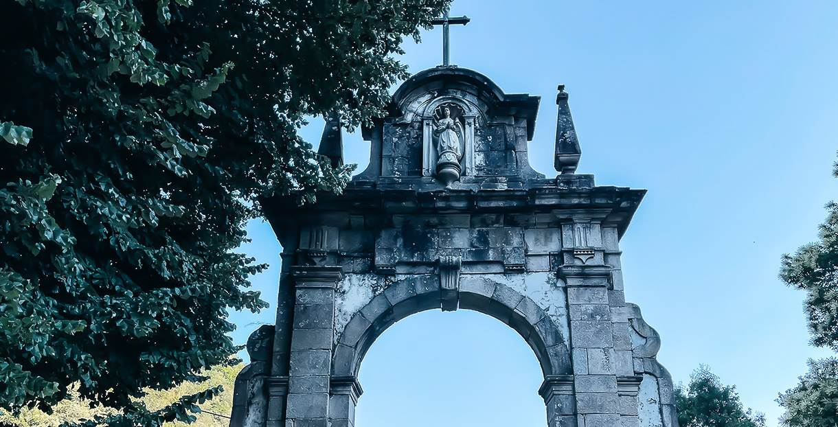Portal do Santuário de Nossa Senhora da Peneda